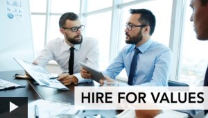 Hire for Values