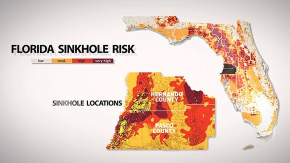 Sinkhole Florida Map.Florida Updates Neutral Evaluation Rules For Sinkhole Claim Disputes